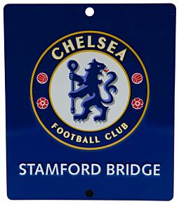 Chelsea Square Window Metal Sign (14x12cm Approx)