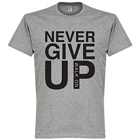 Never Give Up Liverpool Tee - Grey Marl