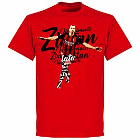 Ibrahimovic Script T-shirt - Red
