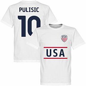 USA Pulisic Team Tee - White
