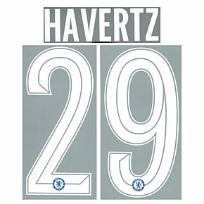 Havertz 29 (Official Cup Printing) - 21-22 Chelsea Home