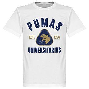 Pumas Established Tee - White