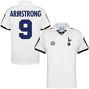 1978 Tottenham Home Retro Shirt + Armstrong 9 (Retro Flock Printing)