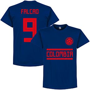 Colombia Falcao 9 Team Tee - Ultra