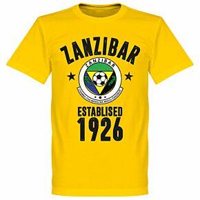 Zanzibar Established Tee - Yellow