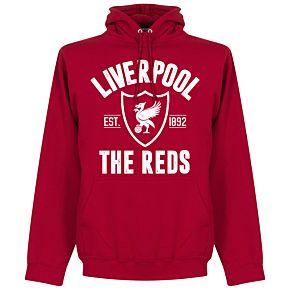 Liverpool Established Hoodie - Red