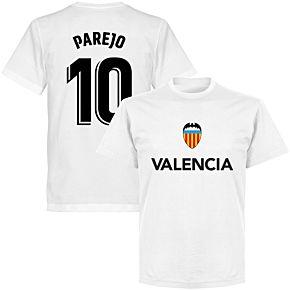 Valencia Parejo 10 Team T-shirt - White
