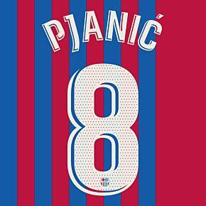 Pjanić 8 (Official Printing) - 21-22 Barcelona Home