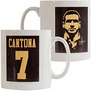 Cantona 7 Silhouette Mug