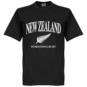 New Zealand Rugby Tee - Black