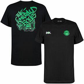 21-22 Montserrat Graphic T-Shirt - Black