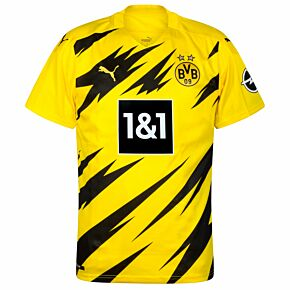 20-21 Bourussia Dortmund Home Shirt - Kids