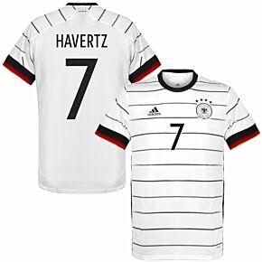 20-21 Germany Home Shirt + Havertz 7