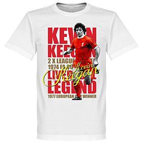Kevin Keegan Legend Tee - White