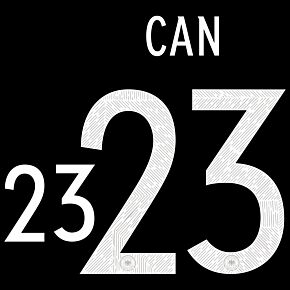 Can 23 (Official Printing) - 20-21 Germany Away