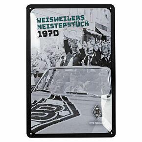 Borussia Monchengladbach Metal Sign (30 x 20cm)