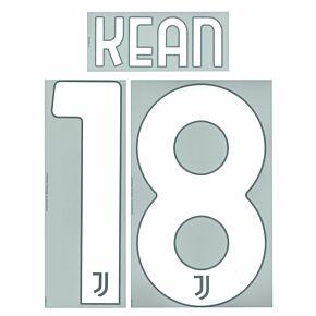 Kean 18 (Official Printing) - 21-22 Juventus Away