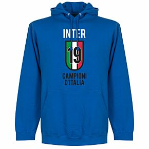 Inter Scudetto 19 Hoodie - Royal Blue