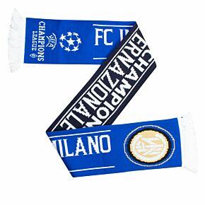 Inter Milan Scarf -Blue/White