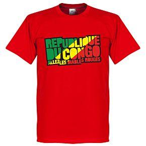Congo Republic Logo Tee - Red