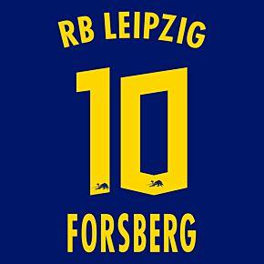 Forsberg 10 (Official Printing) - 20-21 RB Leipzig Away