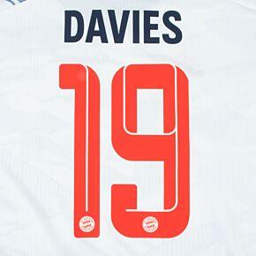 Davies 19 (Official Printing) 21-22 Bayern Munich 3rd