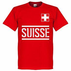 Switzerland Team Tee - Red