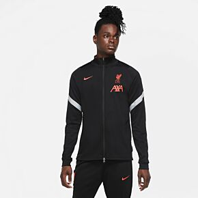 20-21 Liverpool Strike UCL Track Jacket - Black
