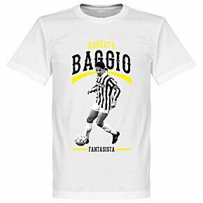 Baggio Fantasista KIDS T-Shirt - White