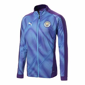 Puma Man City League Stadium Jacket - Purple/Blue 2019-2020