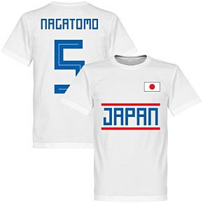 Japan Nagatomo 5 Team Tee - White