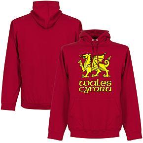 Wales - Cymru Hoodie - Red