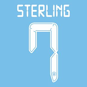 Sterling 7 (Cup Printing) - 21-22 Man City Home