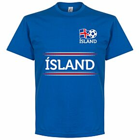 Island Team Tee - Royal
