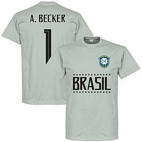 Brazil A. Becker 1 Team Tee - Light Grey