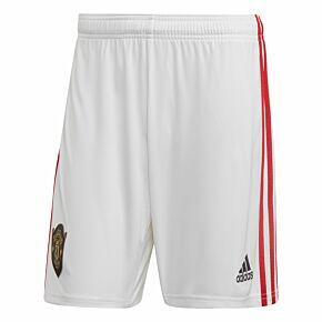 adidas Man Utd Home Shorts 2019-2020