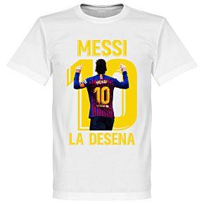 Messi La Desena Tee - White