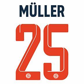 Müller 25 (Official Printing) 21-22 Bayern Munich 3rd
