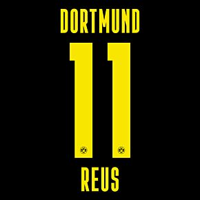 Reus 11 (Official Printing) - 20-21 Borussia Dortmund Away