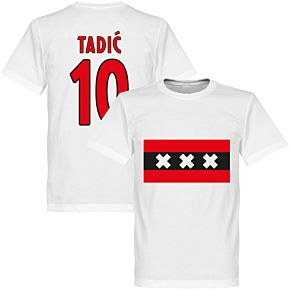 Amsterdam Team Tadic 10 Tee - White