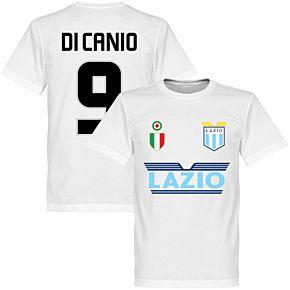 Lazio Di Canio 9 Team Tee - White