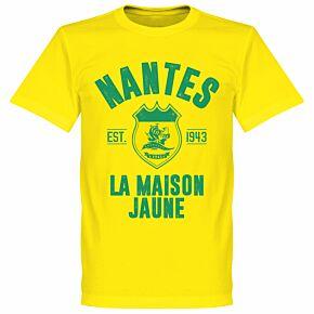 Nantes Established T-Shirt - Yellow