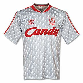 adidas Liverpool 1989-1991 Away Jersey - USED Condition (Great) - Size Small