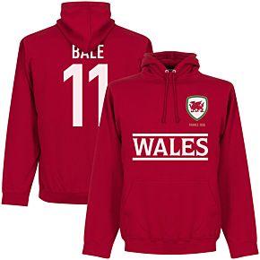 Wales Bale Team Hoodie - Red