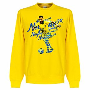 Neymar Script KIDS Sweatshirt - Yellow