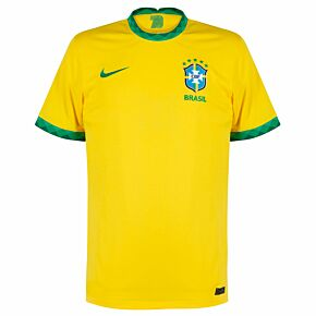 20-21 Brazil Home Shirt - Kids  **DO NOT PUBLISH UNTIL 2021