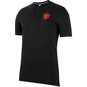 20-21 Holland Grand Slam Polo - Black