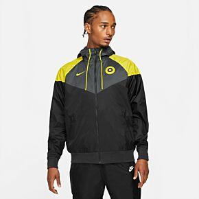 21-22 Chelsea NSW Windrunner Jacket  - Black/Yellow