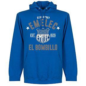 Emelec Established Hoodie - Royal Blue