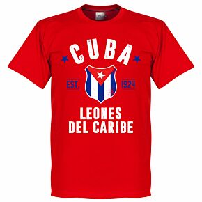 Cuba Established Tee - Red